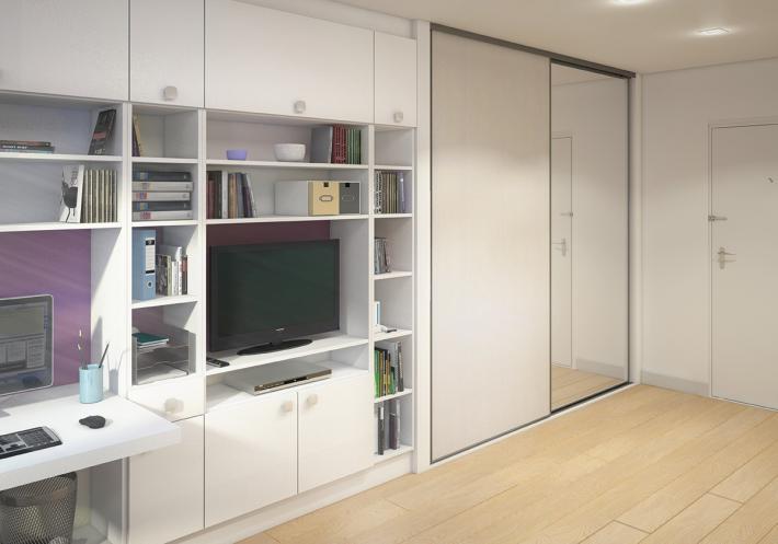 optimisation d'espaces réduits