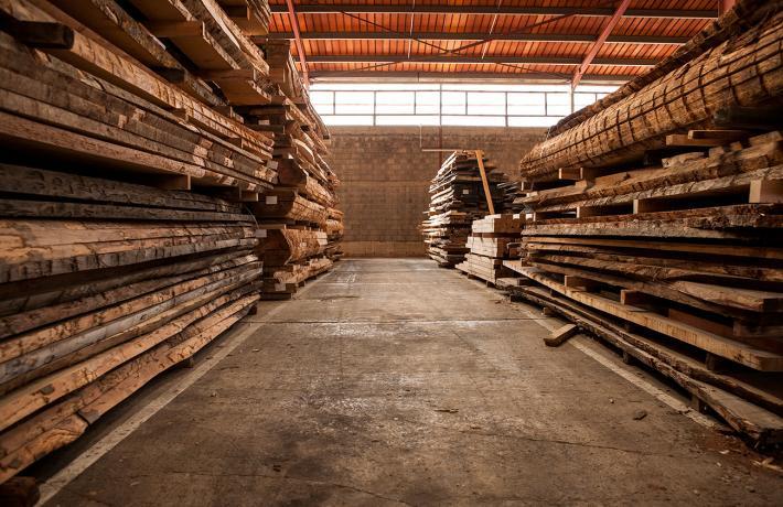 Stockage du bois